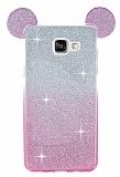 Eiroo Ear Sheenful Samsung Galaxy A5 2016 Pembe Silikon K�l�f