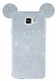 Eiroo Ear Sheenful Samsung Galaxy A7 2016 Silver Silikon Kılıf