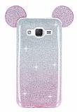 Eiroo Ear Sheenful Samsung Galaxy J2 Pembe Silikon Kılıf