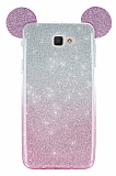 Eiroo Ear Sheenful Samsung Galaxy J5 Prime Pembe Silikon Kılıf