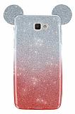 Eiroo Ear Sheenful Samsung Galaxy J5 Prime Kırmızı Silikon Kılıf