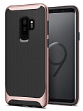 Eiroo Efficient Samsung Galaxy S9 Plus Rose Gold Kenarlı Ultra Koruma Kılıf