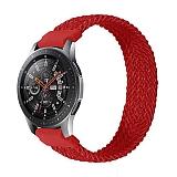 Eiroo Fabric Oppo Watch 46 mm Kırmızı Kumaş Kordon