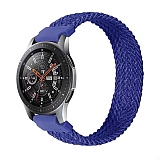 Eiroo Fabric Samsung Galaxy Watch 3 45 mm Lacivert Kumaş Kordon