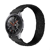 Eiroo Fabric Samsung Galaxy Watch 3 45 mm Siyah Kumaş Kordon