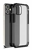 Eiroo Firm iPhone 12 / iPhone 12 Pro 6.1 inç Ultra Koruma Siyah Kılıf