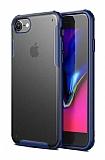 Eiroo Firm iPhone 7 / 8 Ultra Koruma Lacivert Kılıf