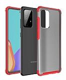 Eiroo Firm Samsung Galaxy A52 / A52 5G Ultra Koruma Kırmızı Kılıf