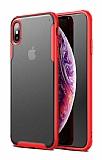 Eiroo Firm iPhone X / XS Ultra Koruma Kırmızı Kılıf
