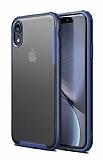 Eiroo Firm iPhone XR Ultra Koruma Lacivert Kılıf
