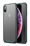Eiroo Firm iPhone XS Max Ultra Koruma Yeşil Kılıf