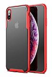Eiroo Firm iPhone XS Max Ultra Koruma Kırmızı Kılıf