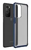 Eiroo Firm OnePlus 9 Pro Ultra Koruma Lacivert Kılıf