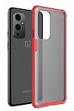 Eiroo Firm OnePlus 9 Ultra Koruma Kırmızı Kılıf