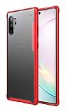 Eiroo Firm Samsung Galaxy Note 10 Plus Ultra Koruma Kırmızı Kılıf
