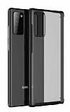 Eiroo Firm Samsung Galaxy Note 20 Süper Koruma Siyah Kılıf