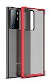 Eiroo Firm Samsung Galaxy Note 20 Ultra Süper Koruma Kırmızı Kılıf