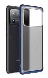 Eiroo Firm Xiaomi Mi 11 Ultra Süper Koruma Lacivert Kılıf