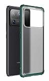 Eiroo Firm Xiaomi Mi 11 Ultra Süper Koruma Koyu Yeşil Kılıf