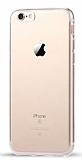 Eiroo Fit Side iPhone 7 Silikon Kenarlı Şeffaf Rubber Kılıf