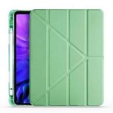 Eiroo Fold iPad Air 10.9 2020 Kalemlikli Standlı Yeşil Kılıf