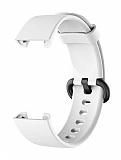 Eiroo Mi Watch Lite Beyaz Silikon Kordon