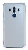 Eiroo Frosty Huawei Mate 10 Pro Silver Kenarlı Silikon Kılıf