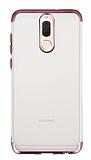 Eiroo Frosty Huawei Mate 10 Lite Rose Gold Kenarlı Silikon Kılıf