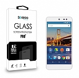 Eiroo General Mobile Android One / General Mobile GM 5 Tempered Glass Cam Ekran Koruyucu
