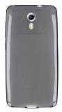 General Mobile Android One / General Mobile GM 5 Ultra İnce Şeffaf Siyah Silikon Kılıf