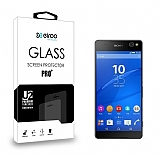 Eiroo Sony Xperia C5 Ultra Tempered Glass Cam Ekran Koruyucu