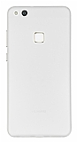 Eiroo Ghost Thin Huawei P10 Lite Ultra İnce Şeffaf Beyaz Rubber Kılıf