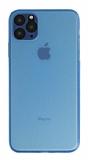 Eiroo Ghost Thin iPhone 11 Pro Ultra İnce Mavi Rubber Kılıf