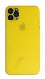 Eiroo Ghost Thin iPhone 11 Pro Ultra İnce Sarı Rubber Kılıf