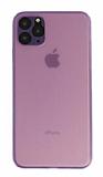 Eiroo Ghost Thin iPhone 11 Pro Ultra İnce Mor Rubber Kılıf