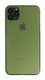 Eiroo Ghost Thin iPhone 11 Pro Ultra İnce Yeşil Rubber Kılıf