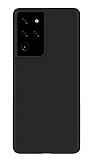 Eiroo Ghost Thin Samsung Galaxy S21 Ultra Siyah İnce Rubber Kılıf