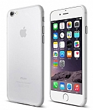 Eiroo Ghost Thin iPhone 6 / 6S Ultra İnce Şeffaf Rubber Kılıf