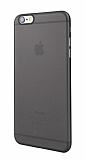 Eiroo Ghost Thin iPhone 6 / 6S Ultra İnce Şeffaf Siyah Rubber Kılıf