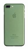 Eiroo Ghost Thin iPhone 7 Plus / 8 Plus Ultra İnce Yeşil Rubber Kılıf