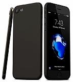 Eiroo Ghost Thin iPhone SE 2020 Ultra İnce Siyah Rubber Kılıf