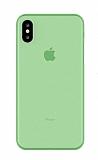 Eiroo Ghost Thin iPhone X / XS Ultra İnce Yeşil Rubber Kılıf