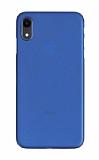 Eiroo Ghost Thin iPhone XR Ultra İnce Lacivert Rubber Kılıf