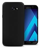Eiroo Ghost Thin Samsung Galaxy A7 2017 Ultra İnce Siyah Rubber Kılıf