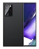 Eiroo Ghost Thin Samsung Galaxy Note 20 Ultra Süper İnce Siyah Rubber Kılıf