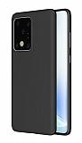 Eiroo Ghost Thin Samsung Galaxy S20 Ultra Siyah İnce Rubber Kılıf