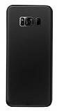 Eiroo Ghost Thin Samsung Galaxy S8 Plus Ultra İnce Siyah Rubber Kılıf