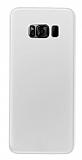 Eiroo Ghost Thin Samsung Galaxy S8 Ultra İnce Şeffaf Rubber Kılıf