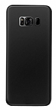Eiroo Ghost Thin Samsung Galaxy S8 Ultra İnce Siyah Rubber Kılıf