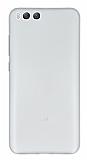Eiroo Ghost Thin Xiaomi Mi 6 Ultra İnce Şeffaf Beyaz Rubber Kılıf